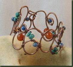 cursive bracelet